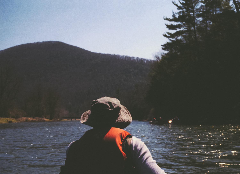 Canoeing Pine Creek